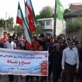 """باشگاه فضیلت """"قلعه سر نکا"""" همایش پیاده روی خانوادگی برگزار کرد/تصویر"""