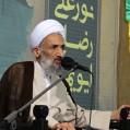 مراسم سومین و هفتمین شب شهادت شهید رضایی در نکا / تصویر