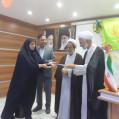 جشن عید غدیر درشبکه بهداشت و درمان نکا برگزار شد / تصویر
