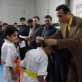 کاراته نکا همچنان بربام قهرمانی شرق مازندران / تصویر