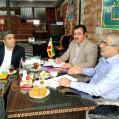 جلسه مشترک شورای شهرستان نکا با نماینده مردم شرق مازندران برگزارشد/ تصویر