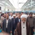 نماز عید سعید قربان نکا به امامت حضرت آیت ا.. محمدی لائینی / تصویر