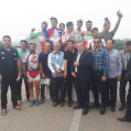 مسابقات  دوچرخه سواری لیگ باشگاههای استان مازندران ماده ۲۰۰متر ۱۰۰۰  متر سرعت در میاندرود برگزار شد/ تصویر