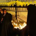 آیین شب شمع درمسجد سجادیه نکا برگزار شد/ تصویر