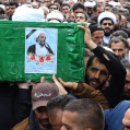پیکر حجت الاسلام نظری بر روی دستان پرمهرمردم مازندران تشییع شد / تصویر