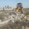 اجرای ۳۰ فقره حکم تخریب بنای غیرمجاز در نکا