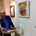 افتتاح نمایشگاه خوشنویسی به مناسبت هفته خوشنویسی در نکا/ تصویر