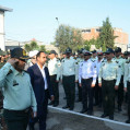 صبحگاه مشترک نیروهای مسلح نکا بمناسبت هفته نیروی انتظامی / تصویر