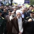 راهپیمایی یومالله ۱۳ آبان در نکا برگزار شد/ تصویر
