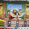 از مقام شامخ شهدای تازه آبادکلای نکا تجلیل شد/تصویر