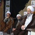 آیت الله لائینی:طلبه ها حافظان ایمان هستند/ تصویر