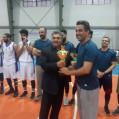 تیم بسکتبال کارگری مازندران در مسابقات کشوری کرمان به مقام سوم رسید