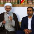 دیدار فرماندار و مسئولین ادارات شهرستان نکا با امام جمعه محترم/ تصویر