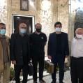 """عیادت """"مدیرعامل بهپاک بهشهر"""" از دبیرهیات دوچرخه سواری استان مازندران/ تصویر"""
