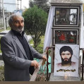 """پدرشهید""""محمودکاظمی زرندینی"""" آسمانی شد+ عکس"""