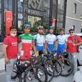 حضورتیم مازندران در رقابت های دوچرخه سواری ترکیه