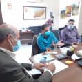 نشست اعضای هیات دوچرخه سواری نکا با ریاست شورای اسلامی شهر