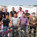 قهرمانی مقتدرانه نکادرمرحله دوم لیگ دوچرخه سواری مازندران/ عکس