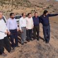 بازدیدمیدانی بخشدارهزارجریب نکا و اعضای شورای بخش از روستای های بالادست