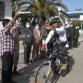 تور دوچرخه سواری مازندران با نام سردار سلیمانی از نکا کلید خورد