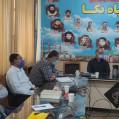 دیدار انجمن راویان دفاع مقدس با فرمانده سپاه نکا
