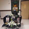 درآئینی از مقام شامخ شهدای سلامت نکا تجلیل شد